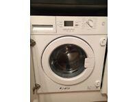 Lamona Integrated Washing Machine A+ efficiency