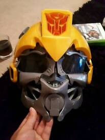 Transformers voice changing helmet