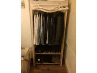 Wardrobe | Pine frame and canvas