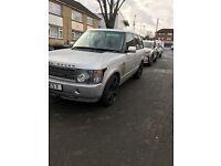 Range Rover 3.0 auto MOT & TAX silver £3900ono