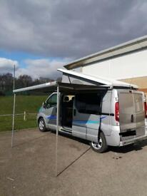 RENAULT TRAFIC LWB CAMPERVAN WITH BRAND NEW ENGINE, CLUTCH AND TURBO
