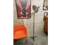 Vintage Mid Century Extending Industrial Lamp
