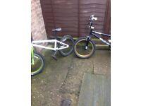 2 boys bmx bikes for sale  Lincolnshire