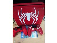 Ps4 spider limited edition 1tb