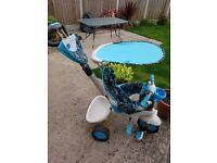 Blue Smart Trike