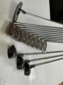 Full golf club set ideal for beginner