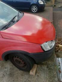 Spare and repair Vauxhall corsa van 1.7 diesel front accident drives fine £350