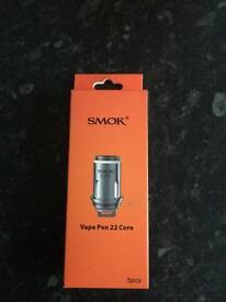 New smok 22 coils 5pck