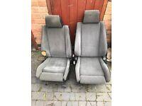 E30 BMW 325i Sport Interior Seats