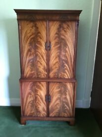 Ornate wood cupboard