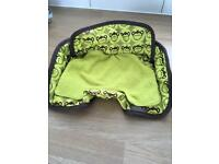 Child seat protector for car seat/pushchair/buggy, potty training