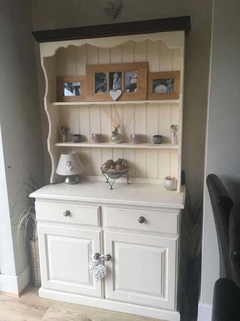 Shabby Chic Welsh Dresser Sideboard Cabinet