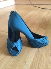 New Look Green Peep Toe £5 (Nearly New)