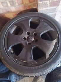 selling audi s line original black 17inch wheels 5x112