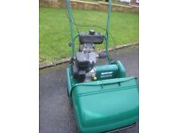 Qualcast Petrol Lawnmower Classic 43S, Fully Serviced, Good Condition, Great Mower