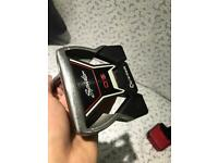 Taylor made OS spider putter with head cover