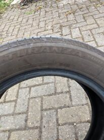 205/55R16 Bridgestone Potenza (6-7mm)