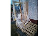 Quality quarter angle wooden pallet.