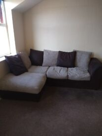 Bailey's corner sofa