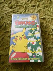 Pokémon Winter Vacation Collectable VHS