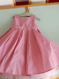 Next 3-4y pink dress