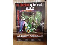 Libertines Up The Bracket Tour Poster RARE
