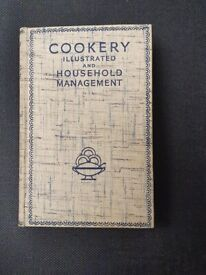 Cookery Illustrated and Household Management. Collector's book (Circa 1936 edition).