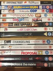 Dvd's Assorted 45+ all in good condition