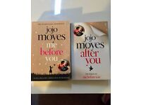 Books: Jojo Moyes: Me before you & After you - good condition
