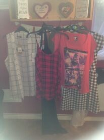 Large bundle of size 20 ladies summer clothes