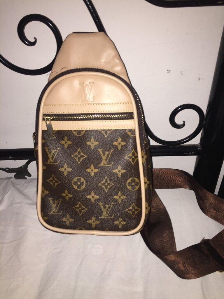 834f9f4be95f Authentic Louis Vuitton Monogram Backpack Rucksack Sling bag Shoulder bag