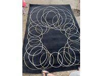 IKEA pattern rug
