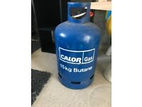Calor gas and bottle