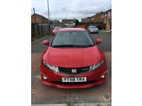 Low millage Honda Civic type R GT full service history