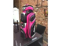 Ladies pink MD Golf bag