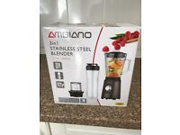 New in box ambiano 3 in 1 blender