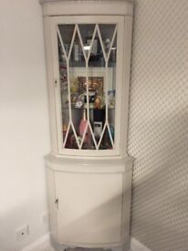 Beautiful upcycled display cabinet