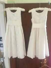 Flower girl/bridesmaid dresses