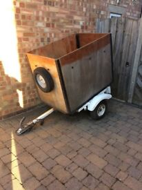 Trailer with brand new spare tyre. £110