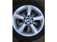 5 spoke 17 inch alloy wheels