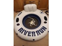"""Inflatable 47"""" river run ring"""