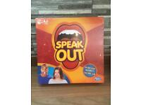 Speak Out Game - brand new