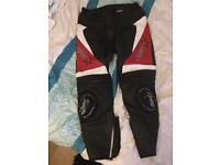 Rst rift leather trousers