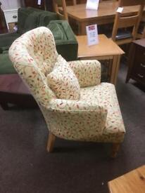 Stuart Jones Armchair & cushion * free furniture delivery *