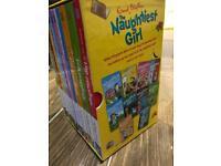 Enid Blyton naughtiest girl series 10 books