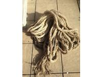Boat rope/ decking rope.