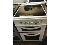 Belling 50cm electric cooker with ceramic hob!