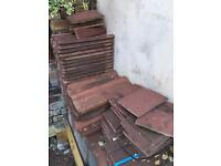 Roof tiles various