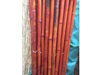 Bamboo pipe screening