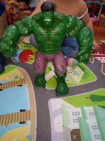 Big Disney store talking hulk